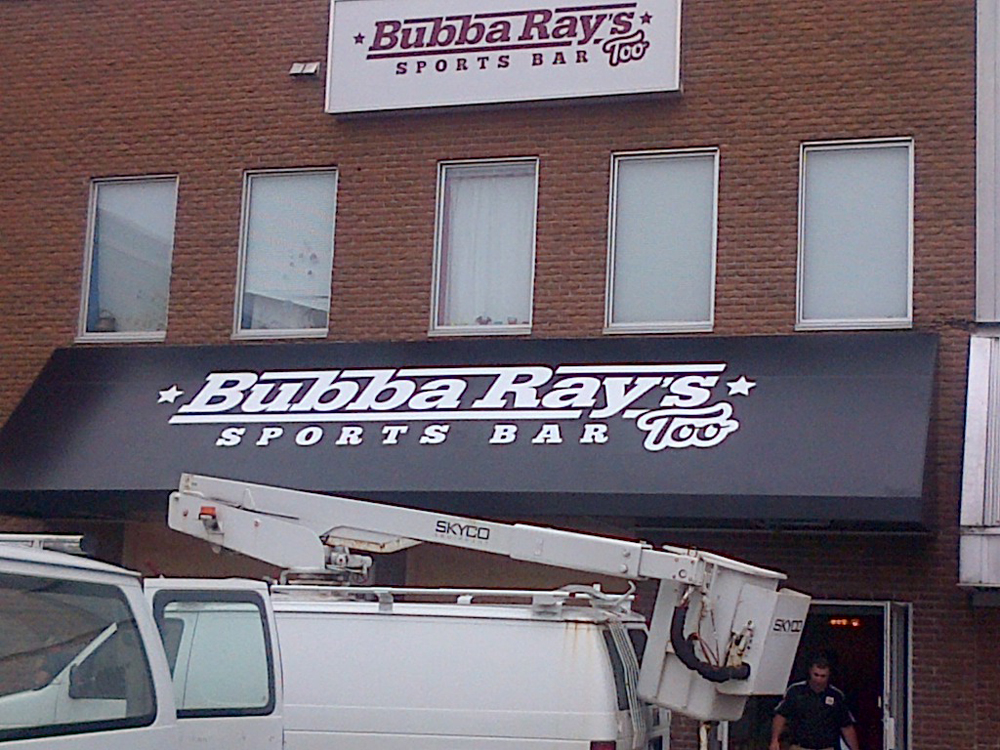 Awning sign in Halifax NS photo5
