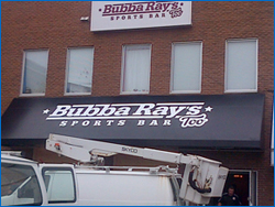 Awning sign in Halifax NS photo6