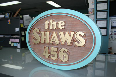 Carved Wooden Signs in Halifax NS photo3